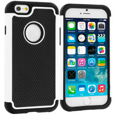 iPhone 5/5S/SE Shockproof Hybrid Hard Armour Tough Shell Cover Case Soft Inside