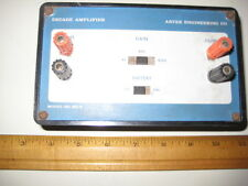 Vintage Solid State Amplifier, Arvee Engineering Co., Battery Operated, x100Gain