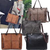 Women Leather Handbag Shoulder Ladies Purse Messenger Satchel Crossbody Bag Lot
