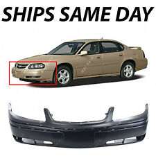 NEW Primered - Front Bumper Cover For 2000-2005 Chevy Chevrolet Impala w/ Fog