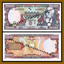 Ecuador 50000 Sucres, 1999 P-130 (?) Unc