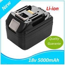 18V Batterie 5000mah pour Makita BL1830 BL1840 LXT Lithium-ion (Li-ion) 5.0Ah