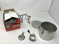 Vintage Sterno Speed Cook Stove No. 25 in Original Box (Great for camping/hiking