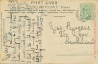 "GB VILLAGE POSTMARKS ""LAMBERHURST"" (TUNBRIDGE WELLS, Kent) Thimble 20mm 1908 pc"
