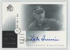 2001 SP Authentic Sign of the Times Hale Irwin #HI Rookie Auto