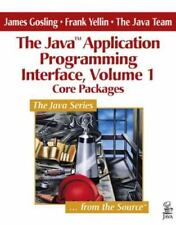 Core Packages (The Java(TM) Application Programming Interface, Volume 1), James