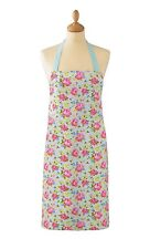 """cooksmart Vintage Floral "" PVC Plastic Coated Wipe Clean Kitchen Wear Apron"