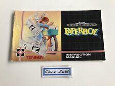 Notice - Paperboy - Sega Megadrive - PAL EUR