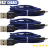 3 Pack iPhone Charger 6ft Lightning Charging Cable Cord For Apple 11 XR X 8 7 6