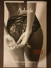 Calendrier Aubade 2020 Collection Collector + Pochette Lingerie Antigel Offerte!