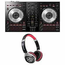 Pioneer DDJ-SB3 Serato DJ Controller w/ 2-Channel Mixer & Software + Headphones