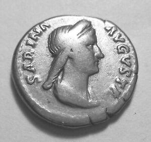 SABINA.  SILVER DENARIUS. Ref. 033.