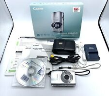 Canon PowerShot SD990 IS Digital Elph 14.7MP P&S Compact Digital Camera CIB VG