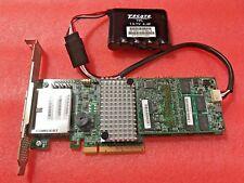 LSI 9285CV-8E SATA SAS MEGARAID L3-25421-41B CONTROLLER 1GB CACHE 6G W/BATTERY