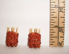 RE-MENT DOLL MINIATURE 1/6 SCALE LOT 2 MEAT KABOB STICKS FOOD ACCESSORY RETIRED