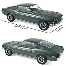 1/12 NOREV Ford MUSTANG Fastback 1968 Satin Green Metallic New Delivered