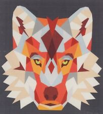 Wolf Abstractions - foundation paper pieced quilt PATTERN - Violet Craft