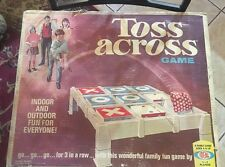 NIB New factory Sealed Vintage 1970 Ideal Toss Across Game VERY RARE *SEE PICS*