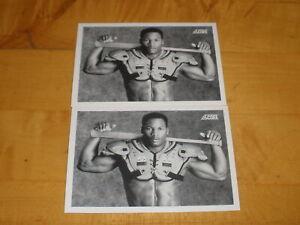 Lot of 2 Bo Jackson 1990 Score #697 Sharp Iconic Card
