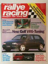 rallye racing 3/1992 Nothelle-Golf VR6, Alfa155, Ford Escort XR3i, Honda Prelude