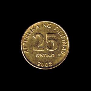 Philippines - 25 Sentimos - 2002 - KM# 271