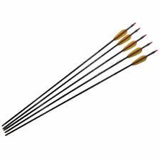 12 pz Frecce Fibra Vetro per Tiro con l/'Arco Punta Arrotondata 74//79//84cm