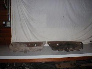 1970-72 PONTIAC GTO JUDGE RAM AIR 455 HO REAR BUMPER BRACKETS PT #9799977-76