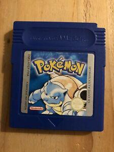 Pokémon Bleu Game Boy Color, PILE OK, Jeu réinitialisé