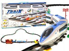 Modelleisenbahn Elektrische Zug Eisenbahnzug Eisenbahn Lokomotive Waggon 450cm