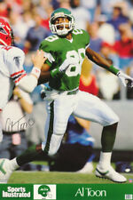 POSTER: NFL  FOOTBALL : AL TOON - NEW YORK JETS - FREE SHIPPING ! #7276   LC20 N