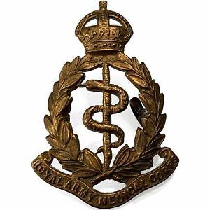 WW1 Royal Army Medical Corps RAMC Cap Badge J.R.GAUNT LONDON Lugs Version - WF92