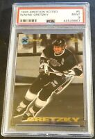 1995 WAYNE GRETZKY EMOTION XCITED #5 PSA 9 KINGS HOF (867)