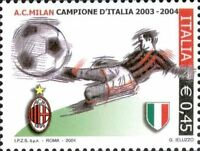 # ITALIA ITALY - 2004 - Milan Winner - Calcio Football Soccer Sport Stamp MNH