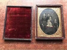 Pretty antique daguerreotype cased photo
