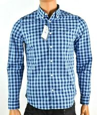 Tommy Hilfiger Mens Shirt New S Blue Plaid Button Down Quick Dry Stretch