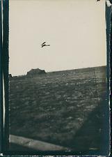 Avion Militaire, Première Guerre Mondiale 1914/18 Vintage silver print Tirag