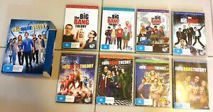 The Big Bang Theory TV Series DVDS Seasons 1-8, Region 4