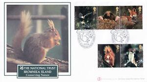 (39371) GB Buckingham FDC Woodland Animals Nutgrove Blandford Forum 2004