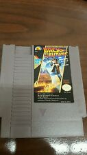 Back to the Future NES Nintendo Entertainment System