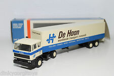 LION CAR DAF 2800 TRUCK WITH TRAILER DE HAAN REMOVALS NEAR MINT BOXED
