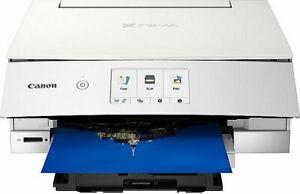 Canon Drucker TS8351 Weiss Kopierer Scanner Duplex WLAN Cloud DVD DRUCK NEU