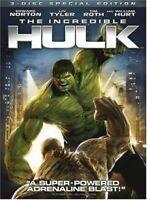 Incredible Hulk [Import USA Zone 1] [DVD] (2008) Edward Norton; Liv Tyler; Ti...