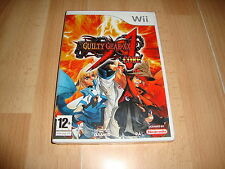 Nintendo Wii PAL version Guilty Gear Core