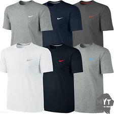 Nike New Mens T-Shirt Gym Cotton Sports Crew Jog Jogging Casual Size S M L XL