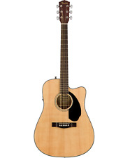 Fender Cd-60sce Electro Acoustic Dreadnought Guitar - Natural