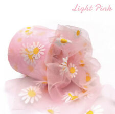 12 cm 25 Yards Daisy Tulle Craft Supplies