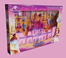 Set of Beauty Castle Play Accessories Play Toy Gift Light & Music UK Seller