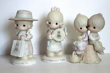 Precious Moments Set of 3 Seek And Ye Find, Birds Of A Feather, Love One Another