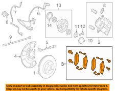 MERCEDES OEM 12-15 CLS550 Brake-Rear Pads 0074207320