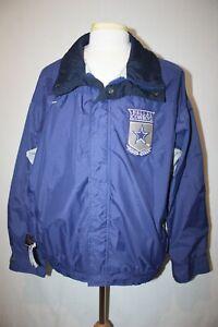 RARE Vtg 90s NFL Dallas Cowboys Columbia Coaches Club Windbreaker Jacket Sz XL